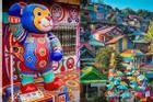 Điểm mặt những ngôi làng bích họa rực rỡ sắc màu ở Châu Á khiến ai đến cũng phải mê