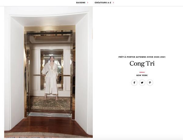 Thanh Hằng và Hồ Ngọc Hà sánh đôi xuất hiện trên tạp chí Vogue Pháp-1