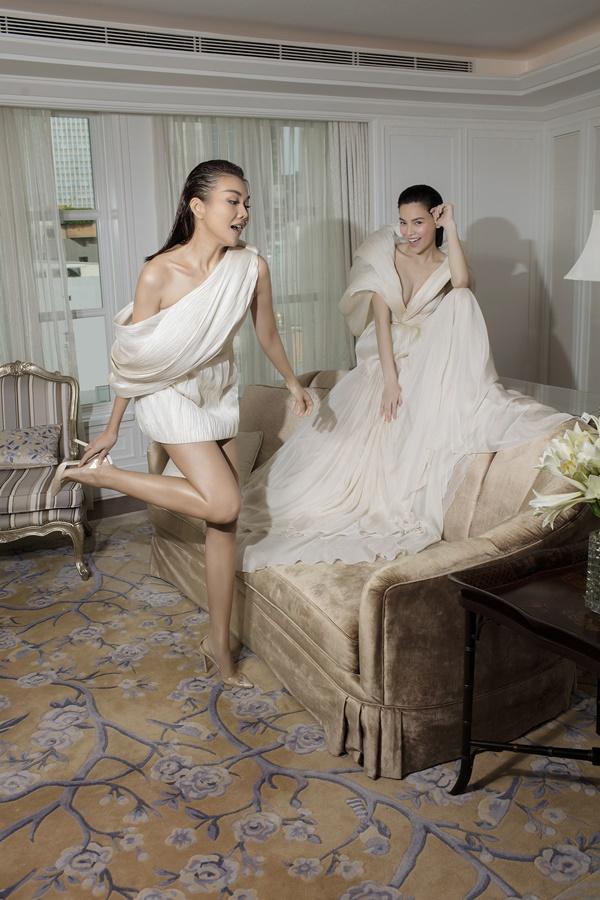 Thanh Hằng và Hồ Ngọc Hà sánh đôi xuất hiện trên tạp chí Vogue Pháp-3