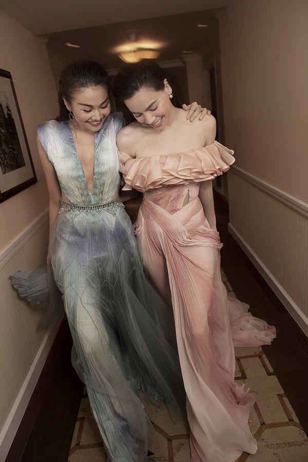 Thanh Hằng và Hồ Ngọc Hà sánh đôi xuất hiện trên tạp chí Vogue Pháp-4