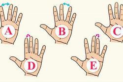 Trắc nghiệm: Bàn tay tiết lộ điều thú vị về bạn