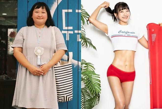 Cô nàng béo phì, từng nặng 100kg vịt hóa thiên nga nhờ giảm cân-1