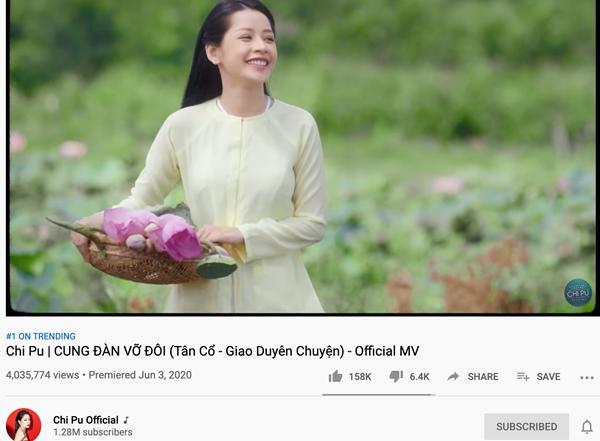 Sơn Tùng M-TP đã là quá khứ, Jack - Chi Pu giờ đây là cái tên top 1 trending Youtube yêu thích-2