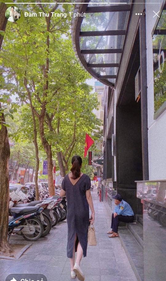 Đàm Thu Trang phá dáng thấy rõ giữa nghi vấn bầu sắp sinh-1