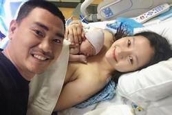 Diễn viên Khánh Hiền sinh con thứ hai ở Mỹ