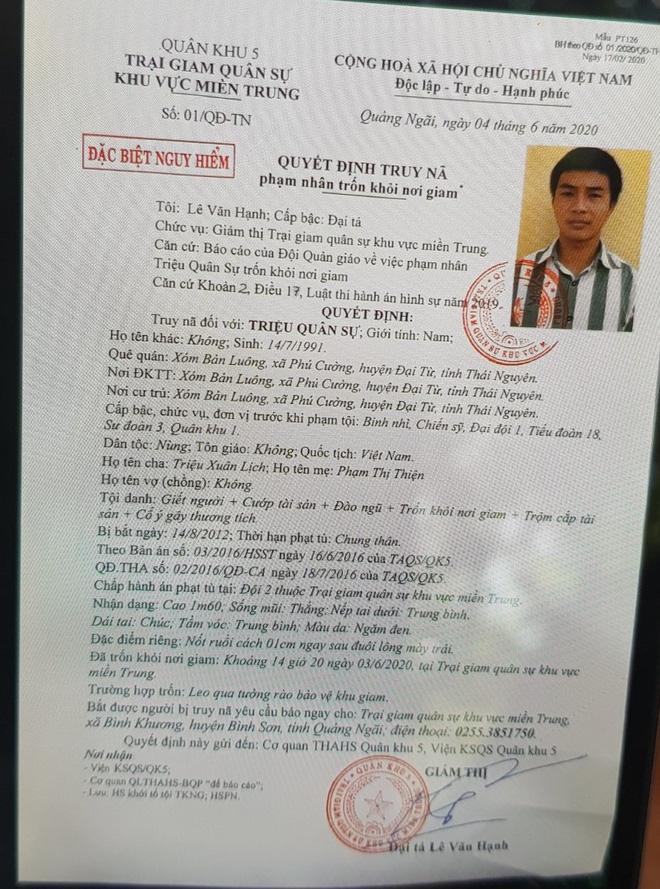 Phương thức 2 lần vượt ngục của kẻ sát nhân mang 4 tiền án tại Đà Nẵng-2