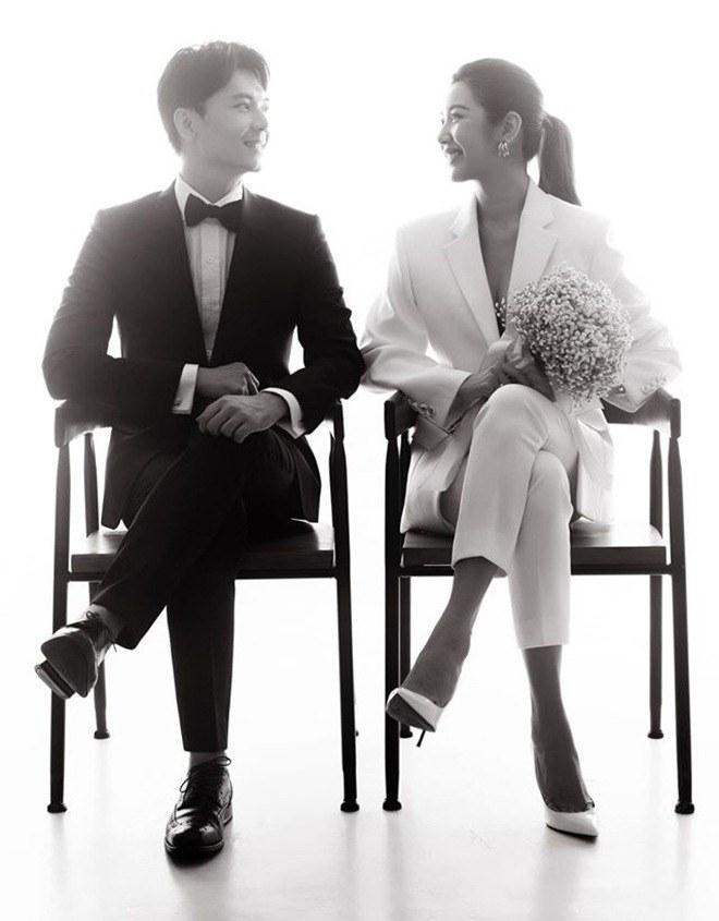 Ảnh cưới siêu giản dị của những mỹ nhân Việt lấy chồng đại gia-3