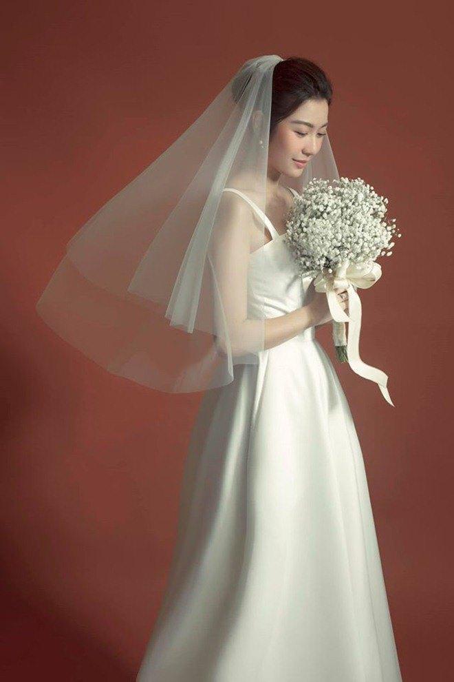 Ảnh cưới siêu giản dị của những mỹ nhân Việt lấy chồng đại gia-2