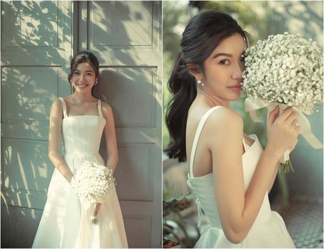 Ảnh cưới siêu giản dị của những mỹ nhân Việt lấy chồng đại gia-1