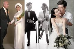 Ảnh cưới siêu giản dị của những mỹ nhân Việt lấy chồng đại gia