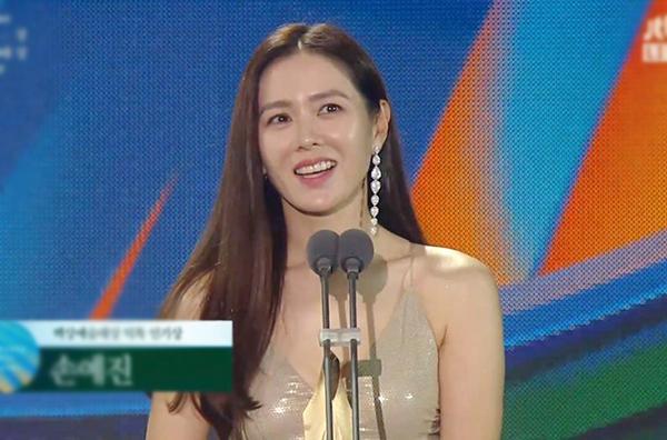 Thế giới hôn nhân, Hạ cánh nơi anh thắng giải Baeksang 2020-7