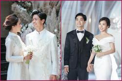 Bất ngờ về áo dài và váy cưới vợ Công Phượng mặc trong ngày đính hôn