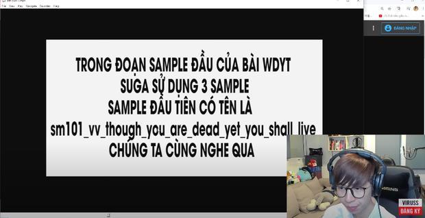 ViruSs đích thân chi tiền mua sample bóc phốt sự thật ồn ào của SUGA (BTS)-2