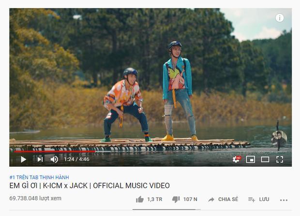 Sơn Tùng M-TP đã là quá khứ, Jack - Chi Pu giờ đây là cái tên top 1 trending Youtube yêu thích-5