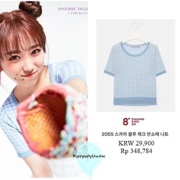 Nhìn giá quần áo Iz*One mặc trong teaser đợt comeback này mà sốc, tiền đi đâu hết rồi?-5