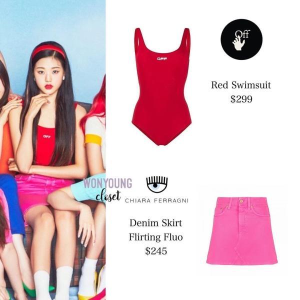 Nhìn giá quần áo Iz*One mặc trong teaser đợt comeback này mà sốc, tiền đi đâu hết rồi?-12