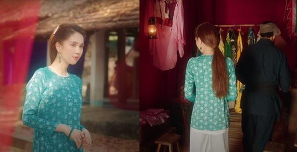 Chiếc áo bà ba biến phái đẹp trở nên dịu dàng đoan trang, kể cả Chi Pu hay Ngọc Trinh-2