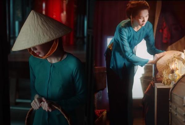 Chiếc áo bà ba biến phái đẹp trở nên dịu dàng đoan trang, kể cả Chi Pu hay Ngọc Trinh-3