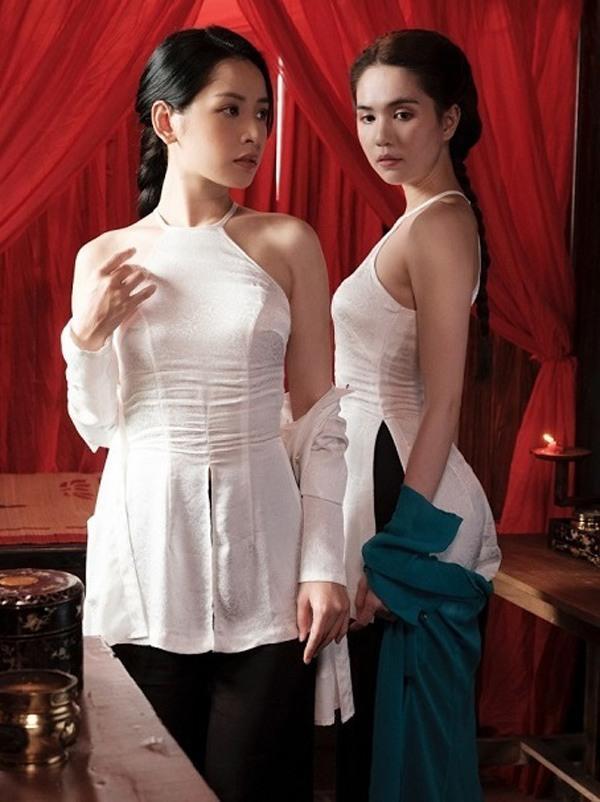 Chiếc áo bà ba biến phái đẹp trở nên dịu dàng đoan trang, kể cả Chi Pu hay Ngọc Trinh-17