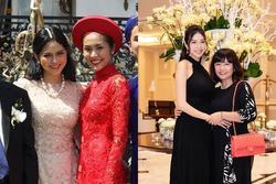 Những mẹ chồng trẻ trung của sao Việt