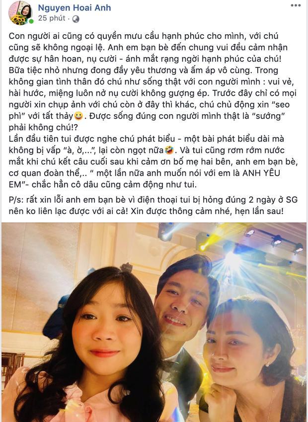 Hé lộ thời khắc Công Phượng tỏ tình với Viên Minh làm cô dâu cảm động bật khóc-1