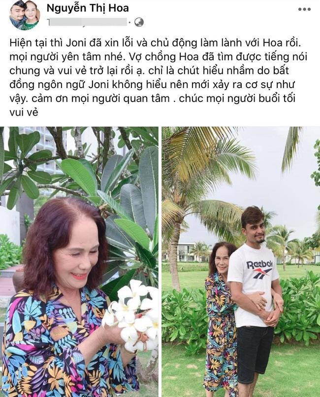 Sau tin đồn bị chồng Tây 28 tuổi bạo hành, cô dâu Việt 65 tuổi lên tiếng-3