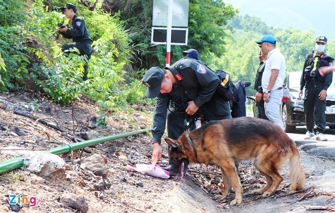 Bác tin chó nghiệp vụ hy sinh khi truy tìm quân nhân trốn trại-1