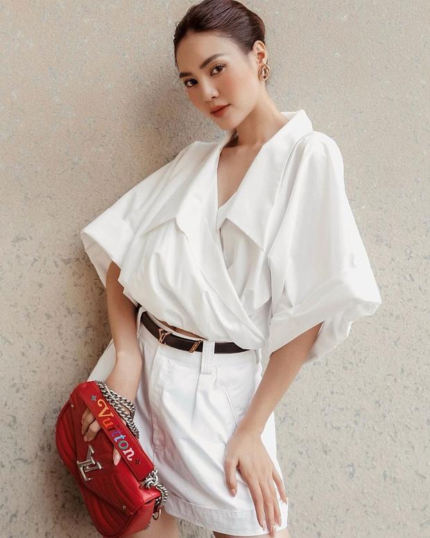 Lan Ngọc luôn bảo toàn phong độ mặc đẹp nhờ đồ trắng và bạn cũng xinh đẹp hơn nếu học theo-6