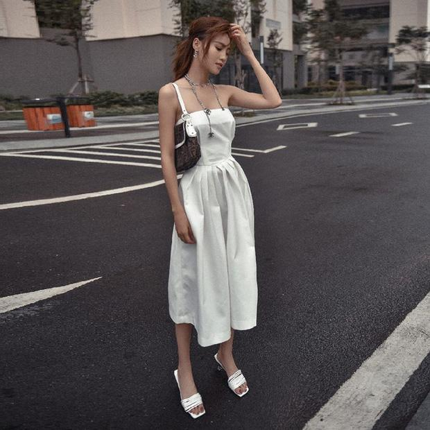 Lan Ngọc luôn bảo toàn phong độ mặc đẹp nhờ đồ trắng và bạn cũng xinh đẹp hơn nếu học theo-7