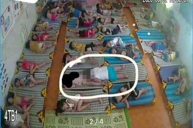 Vụ bé trai lớp mầm non hành động nhạy cảm với bé gái trong giờ ngủ trưa: Thông báo kết luận của Chủ tịch UBND huyện-1