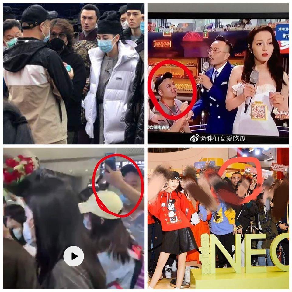 Địch Lệ Nhiệt Ba hoảng hốt khi fan cuồng lao lên sân khấu cầu hôn-4