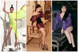 Ngọc Trinh - Hương Giang - Võ Hoàng Yến 'chặt chém' váy áo với 3 tông màu của năm