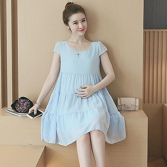 Á hậu Thúy Vân đăng loạt ảnh mặc váy thùng thình như bà bầu đích thực-6