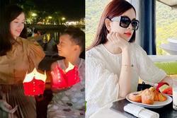 Khoe ảnh đưa con du lịch, nhan sắc tuổi 30 của Ly Kute khiến hội chị em ghen tị