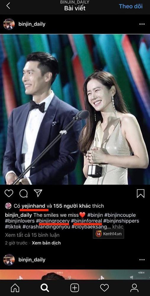 HOT: Giữa đêm Son Ye Jin khiến MXH dậy sóng vì sơ ý để lộ dấu hiệu hẹn hò Hyun Bin?-1