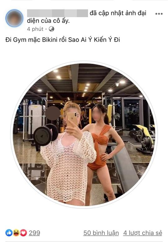 Mặc hở hang tới phòng gym, 2 cô gái trẻ chơi mốt thời trang phang hoàn cảnh-2