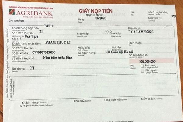 Nhân viên ngân hàng ngăn kịp thời vụ lừa đảo nửa tỷ đồng-1