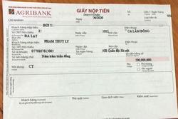 Nhân viên ngân hàng ngăn kịp thời vụ lừa đảo nửa tỷ đồng
