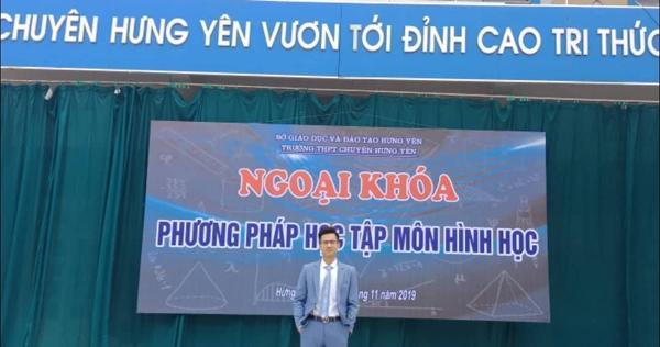 Đột phá hình online cùng 'ngôi sao hình học'- thầy Phạm Hữu Giang-1