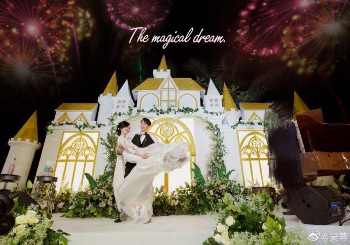 Ngô Tôn bật khóc trong đám cưới sau 16 năm chung sống với vợ-5