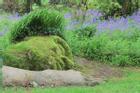 Tượng thiếu nữ ngủ thay đổi diện mạo qua các mùa