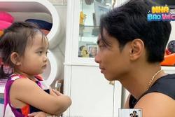 Phan Hiển gây sốt với clip 'xử tội' con gái 2 tuổi