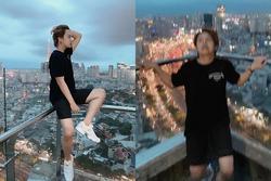 Duy Khánh bất chấp nguy hiểm tính mạng chỉ để có một bức ảnh 'sống ảo' đỉnh cao