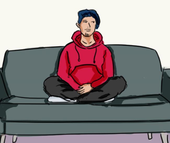 Tư thế ngồi ghế sô pha tiết lộ bạn là người thế nào-5