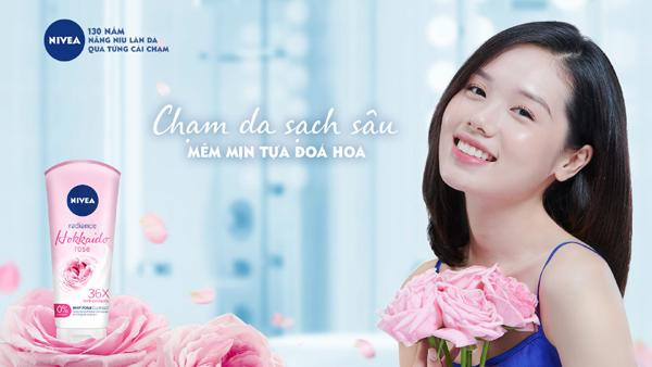 Sữa rửa mặt NIVEA Hokkaido Rose - dịu nhẹ nâng niu làn da-2