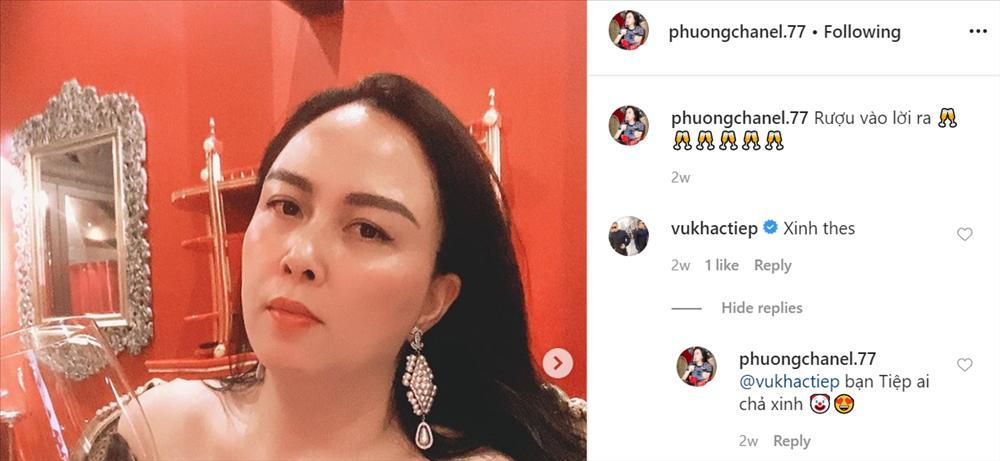 Vũ Khắc Tiệp có lố khi nhiều lần khen Phượng Chanel đẹp nhất Việt Nam?-2