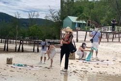 Cặp trai gái đua nhau bắt sao biển vô tội vạ ở Phú Quốc chỉ để thỏa mãn sống ảo