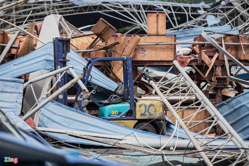Hiện trường xưởng gỗ bị lốc cuốn khiến 3 người chết, 18 bị thương-8