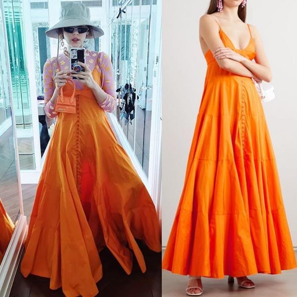 Quả là nữ hoàng váy cưới Vera Wang: Nhờ đôi chân thon nuột mà lấn át bà mẹ đẹp nhất Thái Lan lẫn chị lớn Hong Kong-6