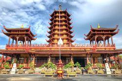 Ngôi chùa được mệnh danh cổ trấn thu nhỏ của miền Tây
